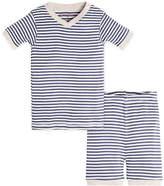 Burt's Bees Baby Stripe Organic Cotton Short Sleeve Pajamas