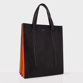 Paul Smith Black and Red 'Concertina' Tote Bag