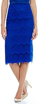 Preston & York Tera Lace Pencil Skirt