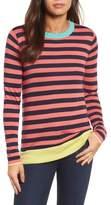 Halogen Colorblock Stripe Sweater