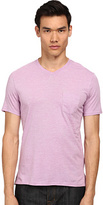 Vince V-Neck Pocket Tee Men's T Shirt