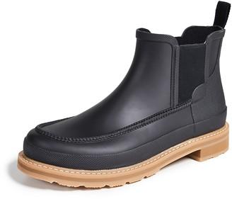 Hunter Boots Lightweight Mock-Toe Short Boots