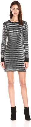 Olive + Oak Olive & Oak Women's Jacquard Sweater Dress