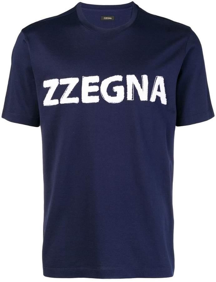 Ermenegildo Zegna logo T-shirt