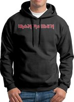 Sarah Men's Iron Maiden Rock Band Logo Hoodie L
