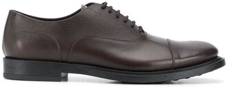 Tod's Textured Low Heel Lace-Up Shoes