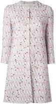 Giambattista Valli tweed coat - women - Silk/Cotton/Polyamide/Virgin Wool - 40