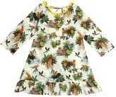 Selini Action Printed Cotton Muslin Cover-Up Dress