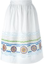 Peter Pilotto 'Iris' skirt - women - Cotton/Spandex/Elastane/Polyimide - 10