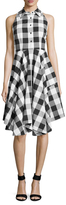 Julia Jordan Sleeveless Flannel Shirtdress