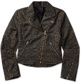 Ralph Lauren Leopard Print Denim Jacket, Big Girls (7-16)