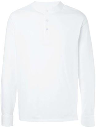 Kent & Curwen Band Collar Shirt