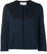 Harris Wharf London collarless cropped jacket
