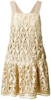 No.21 embroidered dress - women - Polyester/Viscose/Metallic Fibre - 42