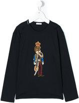 Dolce & Gabbana lion king appliqué top - kids - Cotton - 10 yrs