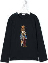 Dolce & Gabbana lion king appliqué top