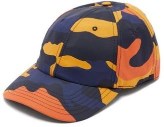 Valentino Camouflage-print Cap - Mens - Camouflage