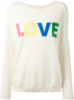 Chinti and Parker cashmere Love jumper