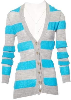 Alessandro Dell'Acqua Grey Viscose Knitwear