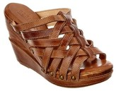 Bed Stu Josie Leather Wedge Sandal.