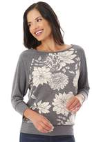 Apt. 9 Women's 3/4 Sleeve Raglan Top