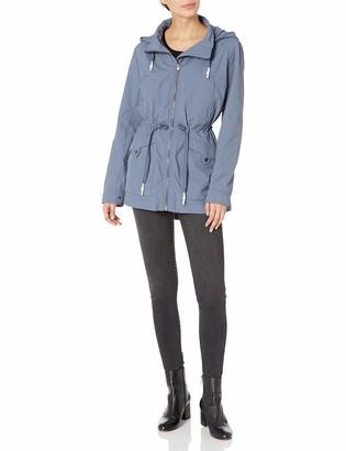 Andrew Marc Women's Belltown Crinkle Rain Jacket