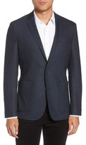Vince Camuto Men's Digital Houndstooth Wool Blend Sport Coat