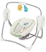 Fisher-Price SpaceSaver Cradle 'n Swing in White