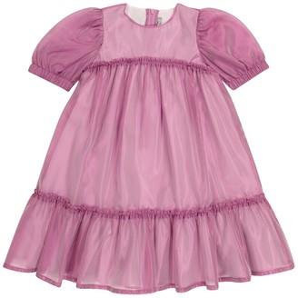 Il Gufo Organza dress