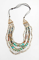 J. Jill Jasper & Metal Layered Necklace