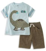 Kids Headquarters Dinosaur Tee and Shorts Set