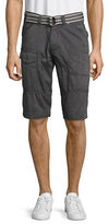 Point Zero Belted Stretch Cargo Shorts