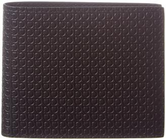 Salvatore Ferragamo Gancini Leather Bifold Wallet