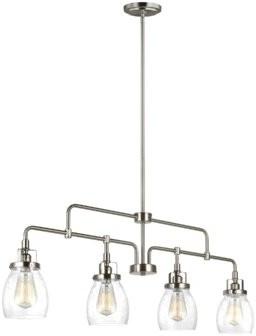 Trent Austin Design Houon 4 - Light Kitchen Island Linear Pendant