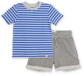 Sovereign Code Boys' Striped Tee & Shorts Set - Baby