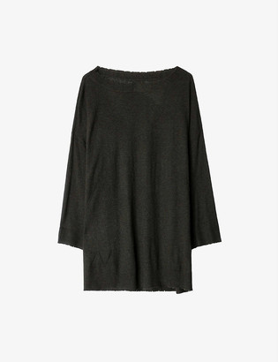 Zadig & Voltaire Flint star-embroidered cashmere jumper