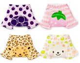 Skhls Toddler Cotton Super Soft Bloomers Fifth Shorts Pants 4 Pack