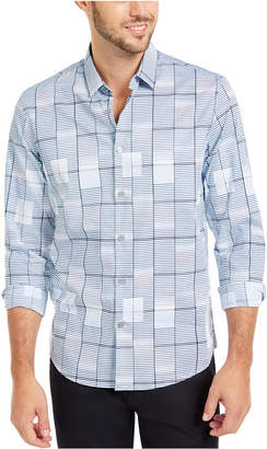 Alfani Afani Men Classic-Fit Geo-Print Shirt