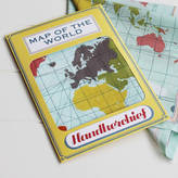 Sukie World Map Handkerchief