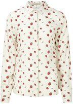 Sugarhill Boutique Blair Strawberry Shirt