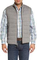 Peter Millar Quilted Wool & Cotton Full Zip Vest