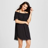 Merona Women's Off The Shoulder Dress Black