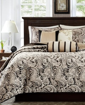 Madison Home USA Adeline 6-Pc. Quilted King/California King Coverlet Set Bedding