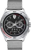 Ferrari Men's Chronograph Gran Premio Stainless Steel Mesh Bracelet Watch 47mm 0830347