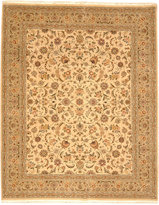 """Nourison Closeout! Royalty RO31 Beige 8'6"""" x 11'6"""" Hand-Knotted Rug"""