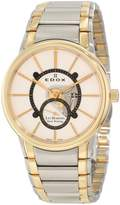 Edox Men's Les Bemonts Hand Winding White Dial Watch