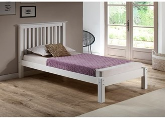 Alaterre Barcelona Twin Bed, White