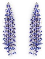 Vince Camuto Silvertone Waterfall Earrings