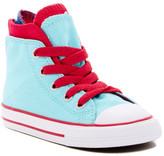Converse Chuck Taylor All Star Zip Back High-Top Sneaker (Baby & Toddler)