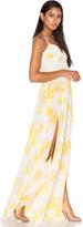 Amanda Uprichard Rio Maxi Dress